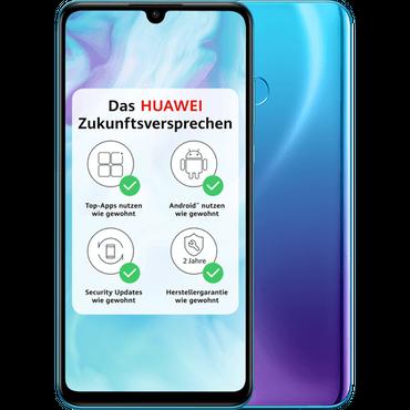 Huawei P30 lite blau (Peacock Blue) - Dual SIM – Bild 1