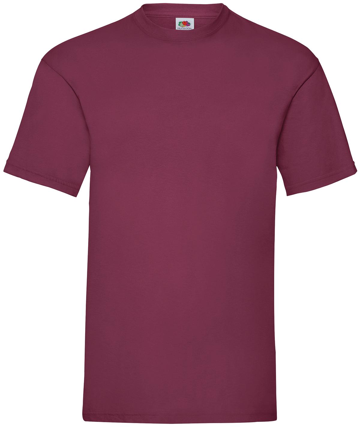 Indexbild 10 - Fruit of the Loom UNISEX T-Shirt Bestseller Top Angebot Herren Damen NEU