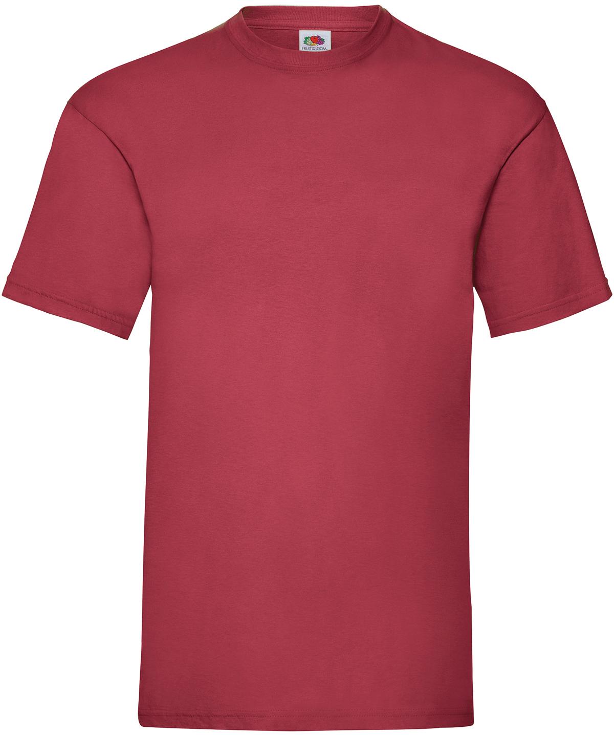 Indexbild 13 - Fruit of the Loom UNISEX T-Shirt Bestseller Top Angebot Herren Damen NEU