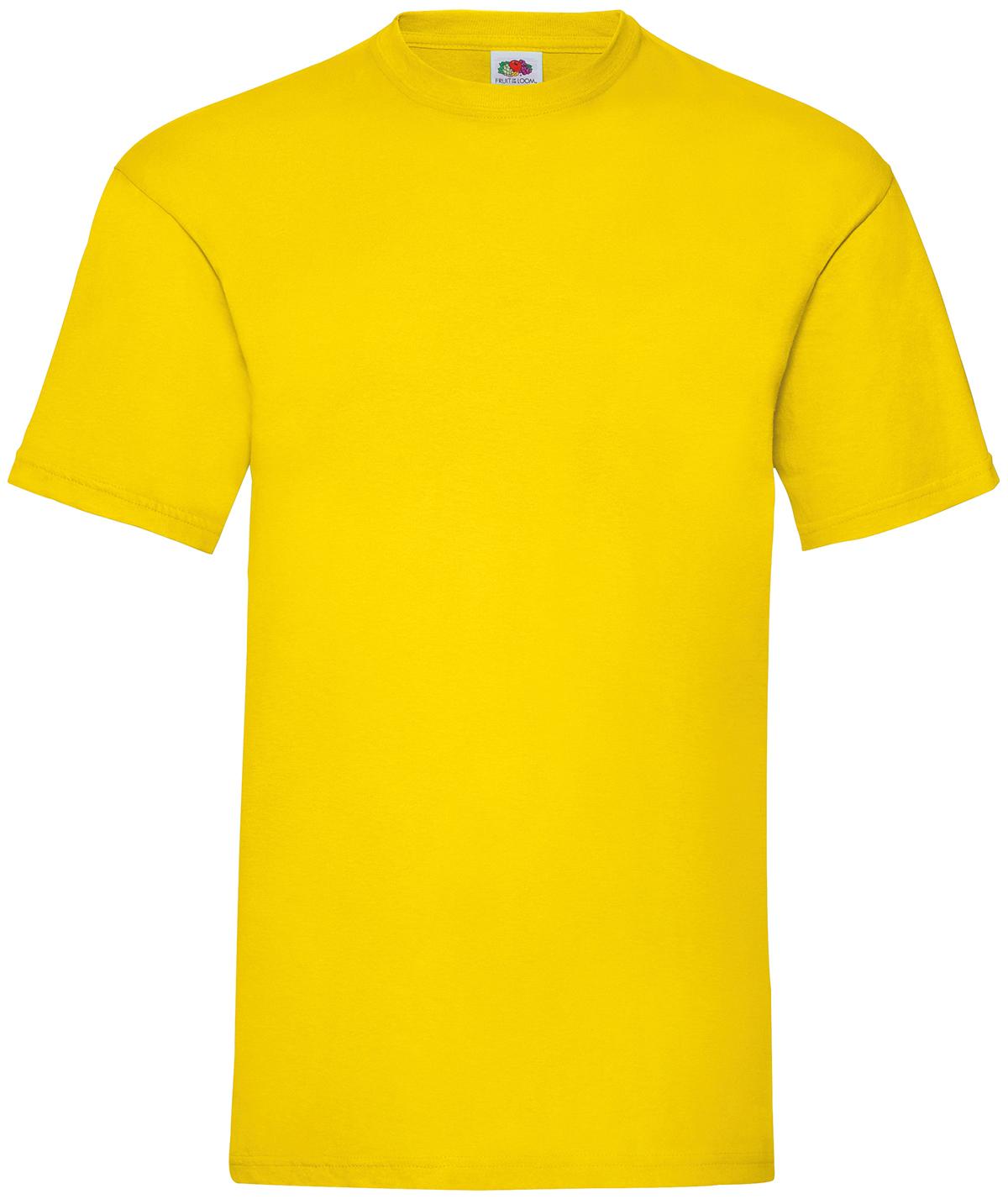 Indexbild 16 - Fruit of the Loom UNISEX T-Shirt Bestseller Top Angebot Herren Damen NEU