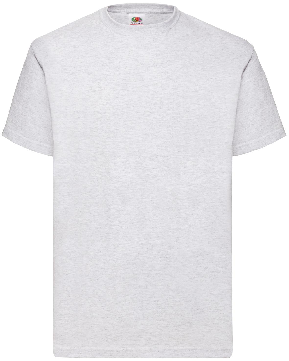 Indexbild 4 - Fruit of the Loom UNISEX T-Shirt Bestseller Top Angebot Herren Damen NEU