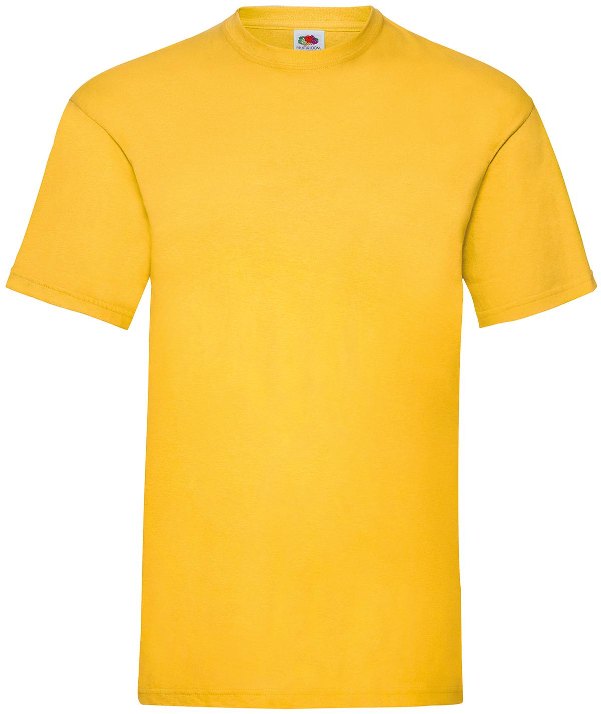 Indexbild 29 - Fruit of the Loom UNISEX T-Shirt Bestseller Top Angebot Herren Damen NEU