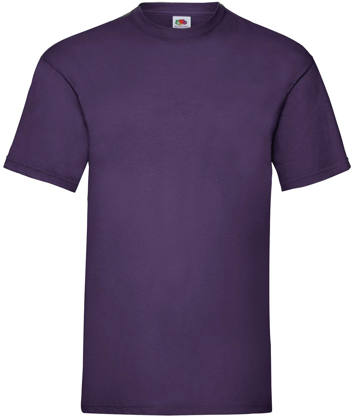 Indexbild 32 - Fruit of the Loom UNISEX T-Shirt Bestseller Top Angebot Herren Damen NEU