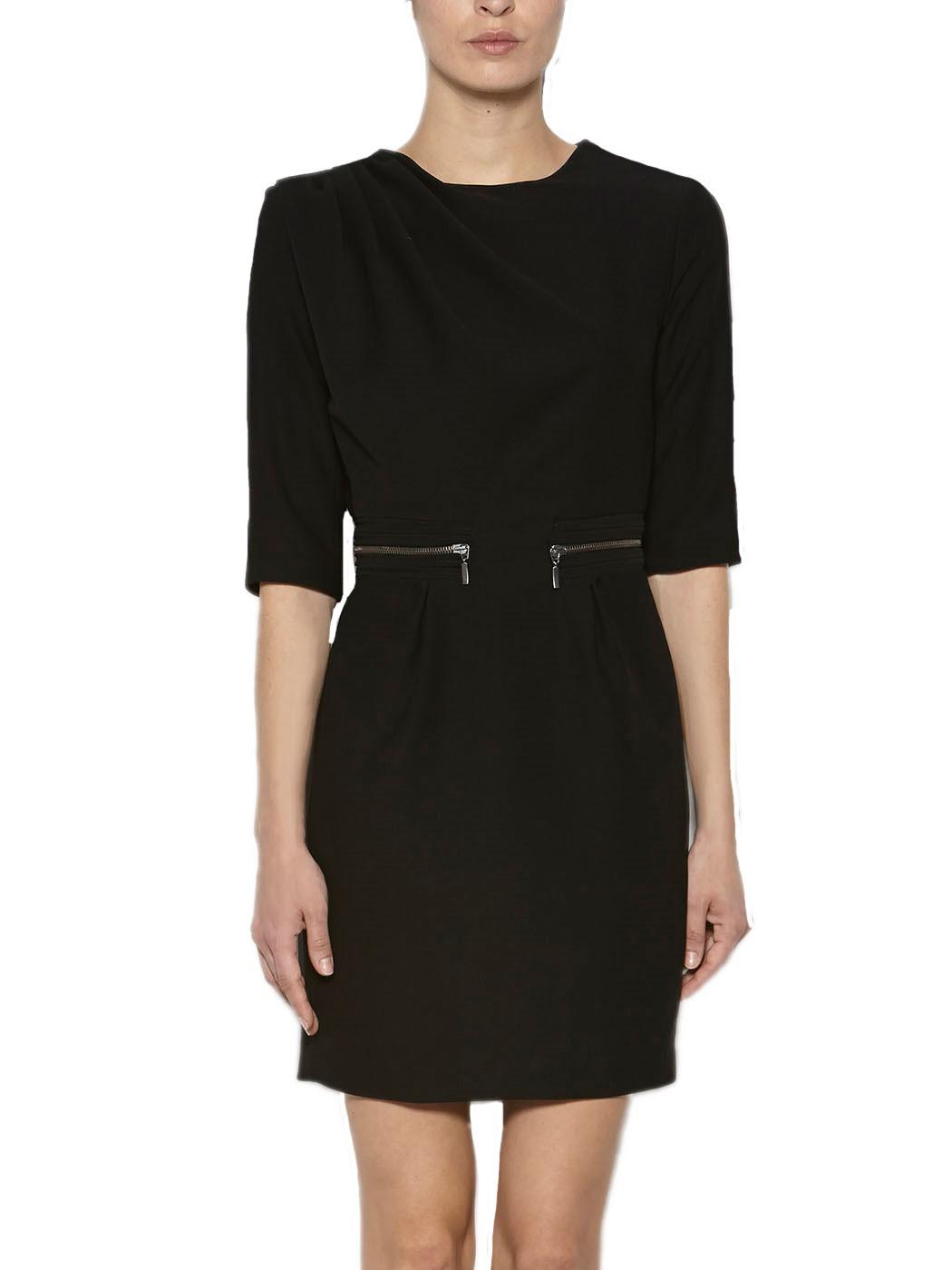 Etui Kleid in Schwarz