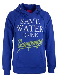 Save Water Sweatshirt mit Kapuze