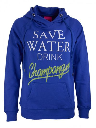 Save Water Sweatshirt mit Kapuze