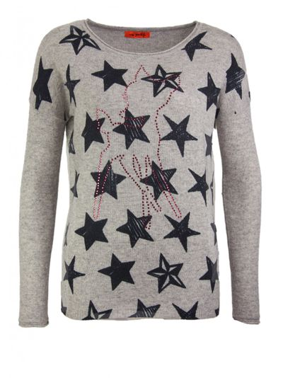 Bambi and Stars Cashmere Pullover