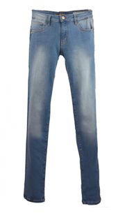 Box in Lacey Skinny Jeans in Stone
