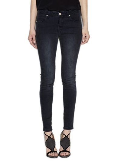 Skinny Jeans mit Used Waschung