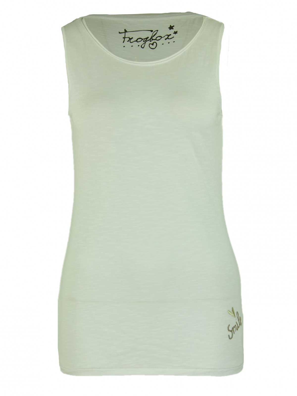 Basic Tanktop in Weiss