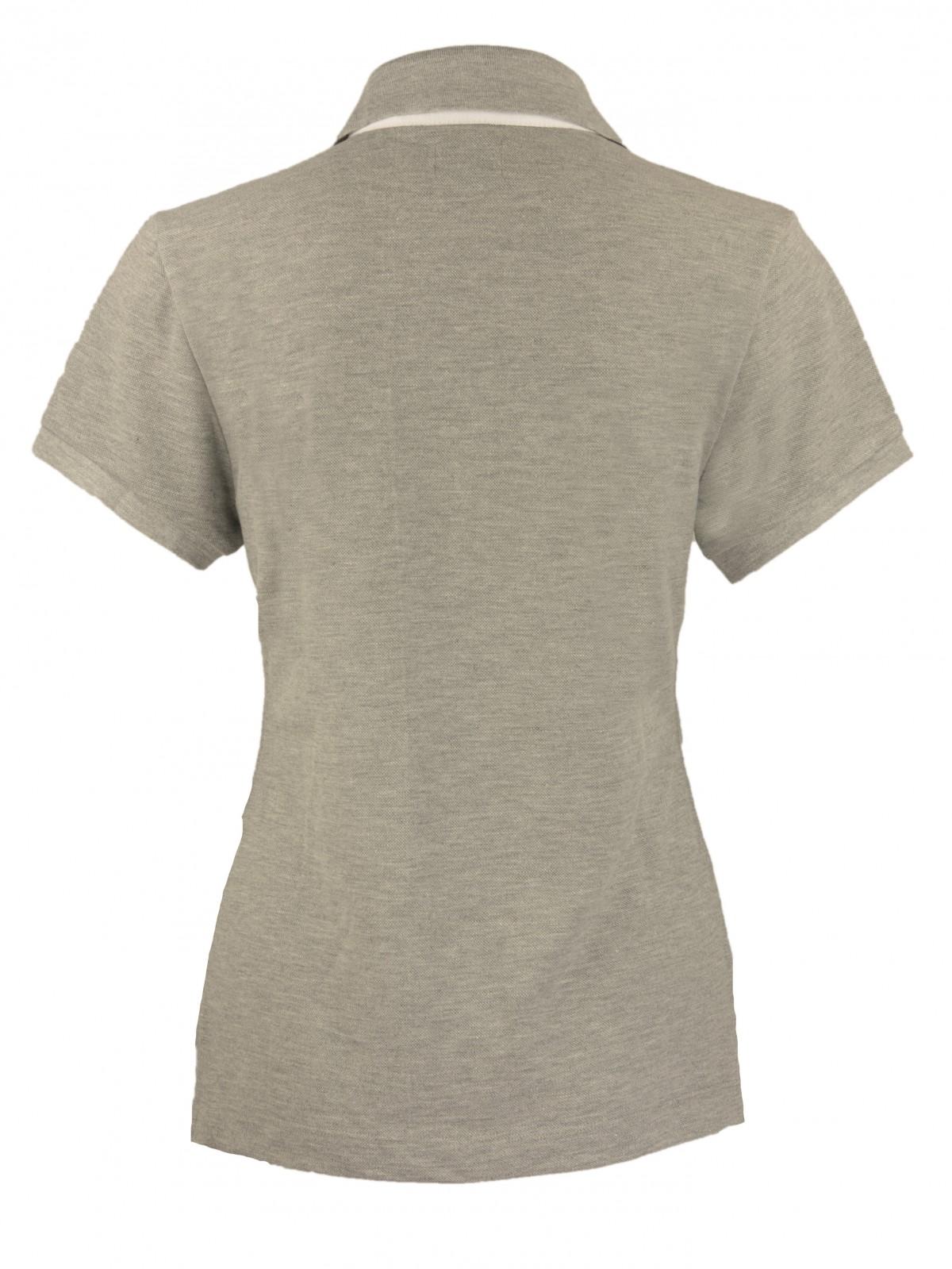 Classy Love Poloshirt in Grey Melange