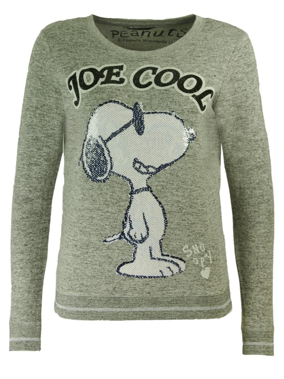 Snoopy Wende Pailletten Sweatshirt