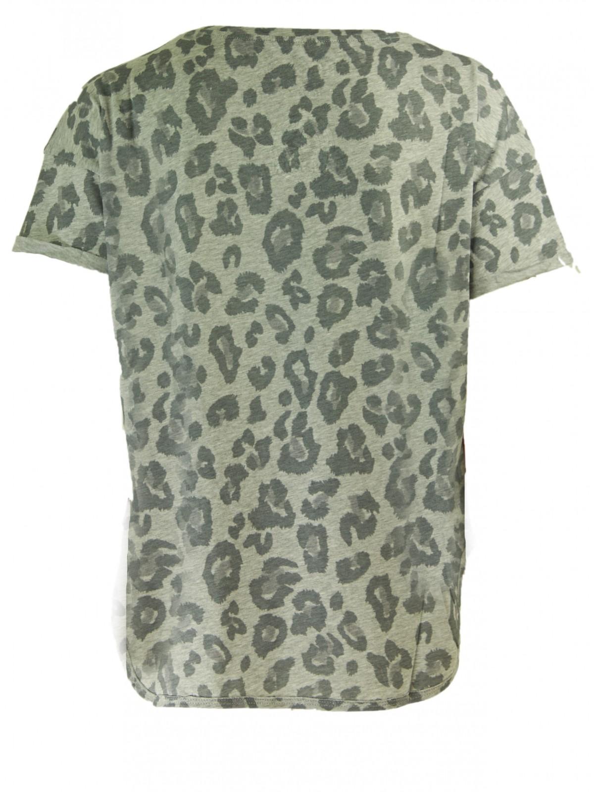 Tweety T-Shirt mit Leopardenprint