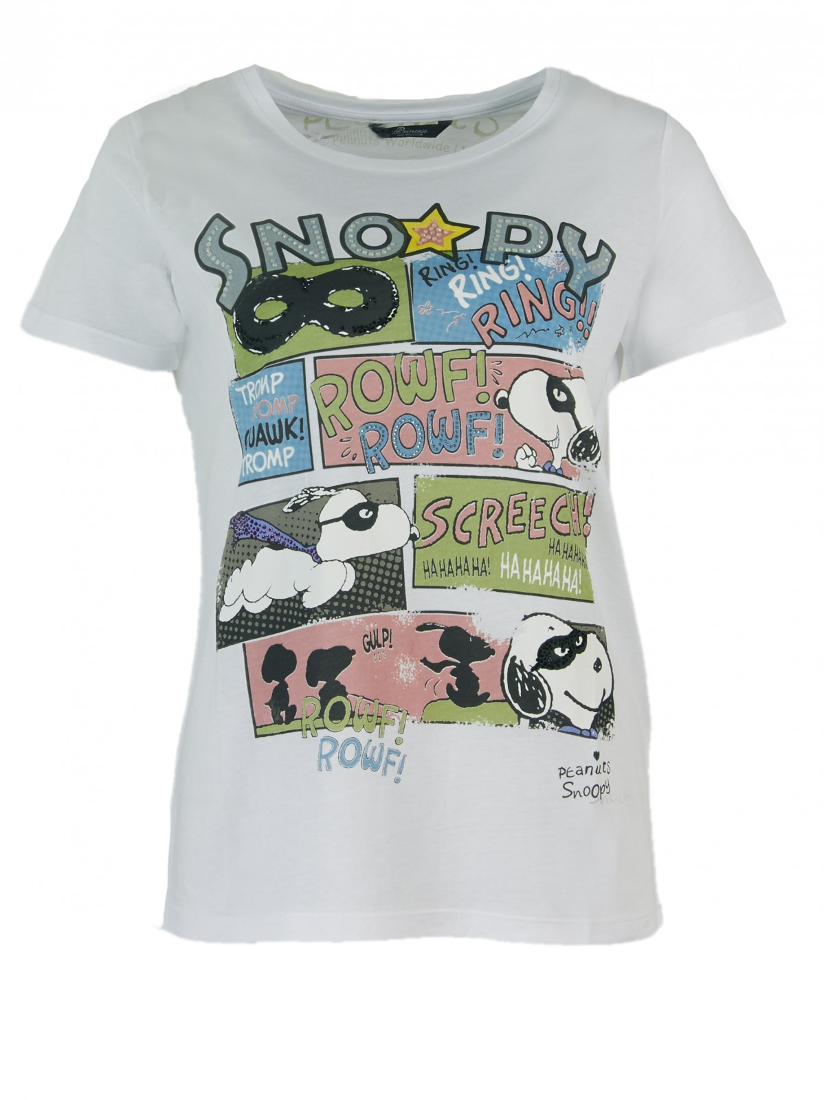 Snoopy Marvel Comic T-Shirt