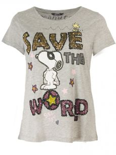 Snoopy Save the World T-Shirt