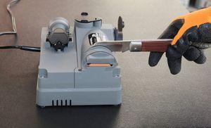 Multifunktions Schleifmaschine 150W Schärfgerät Bohrer- Scheren- Messer-Schärfer – Bild 12
