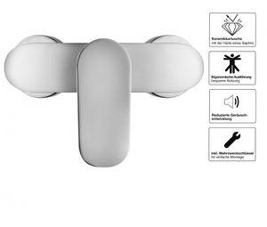 Duscharmatur Brausemischer Aufputz Burgos Einhebel Brausearmatur – Bild 4