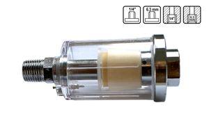 """Druckluftfilter  Mini Filter Luftfilter Wasserabscheider 1/4"""""""