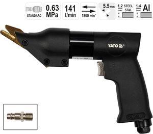 Pneumatische Druckluft Blechschere mit Pistolengriff Druckluftnibbler Druckluftknabber