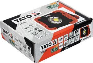 LED Akku Baustrahler 10W COB 4400 mAh 800Lm USB Arbeitsleuchte Fluter Handlampe Strahler
