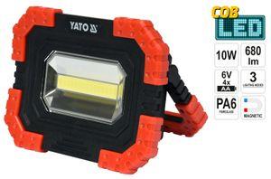 LED Baustrahler 10W COB 4400 mAh 680Lm Arbeitsleuchte Fluter Handlampe Strahler
