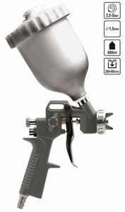 Druckluft Farb Pistole Spritzpistole Lackierpistole  680 ml Düse ø 1,5 mm