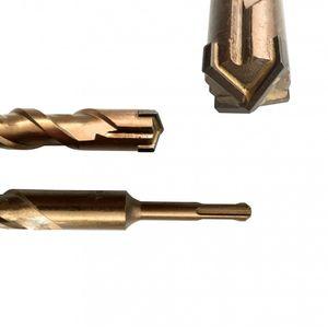 SDS Plus Betonbohrer Kreuzschneide 8 x 160 mm S4 Steinbohrer  – Bild 2