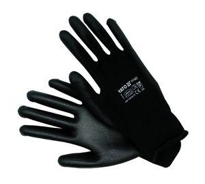 Mechaniker Handschuhe Nylon Arbeitshandschuhe schwarz Gr 10 – Bild 2
