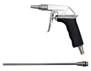 Druckluft Ausblaspistole Druckluftpistole Blaspistole 1/4 Zoll mit Verlängerung 125 mm – Bild 2