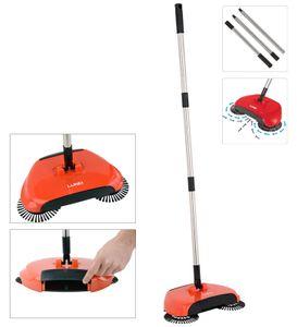 Automatische Hand Besen Kehrmaschine Staub Bodenreinigung Mopp mit Mülleimer 2 In 1