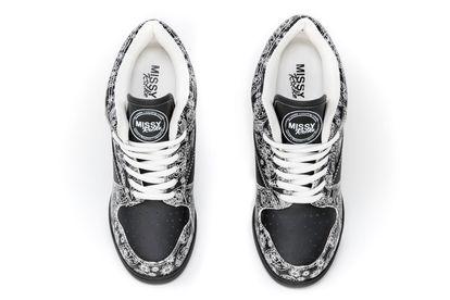 MISSY ROCKZ BANDANA ROCKZ Sneaker High Heels