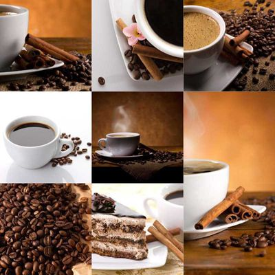 Fliesenbild Coffee Collage – Bild 1