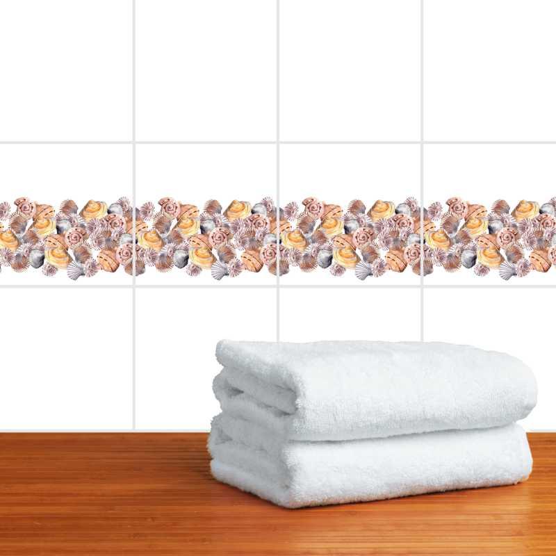 Fliesenaufkleber Motiv Conchas 10x10 cm – Bild 2