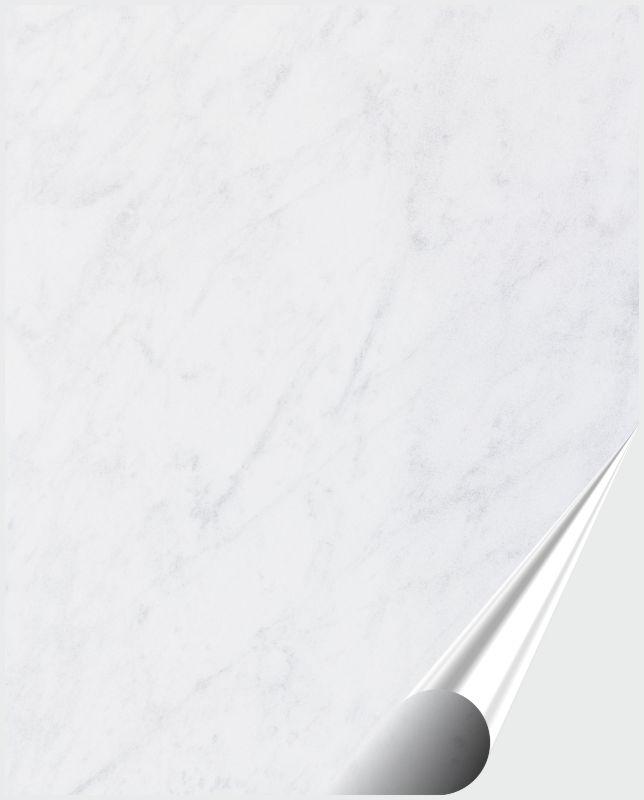 Fliesenaufkleber Dekor White Marble 20x25 cm – Bild 1