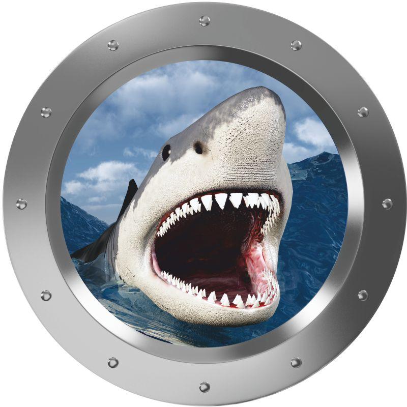 Fliesenbild weisser Hai – Bild 3