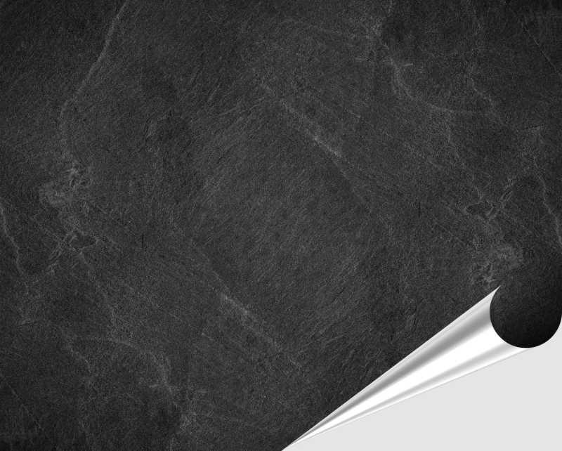 Fliesenaufkleber Black Slate 20x25 cm – Bild 2