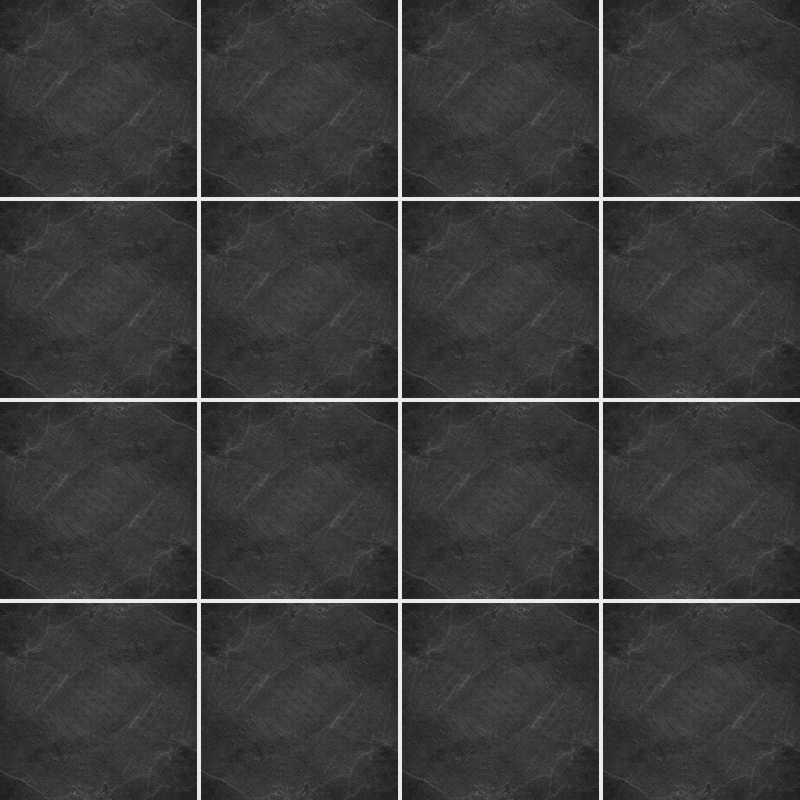 Fliesenaufkleber Dekor Black Slate 20x20 cm – Bild 3