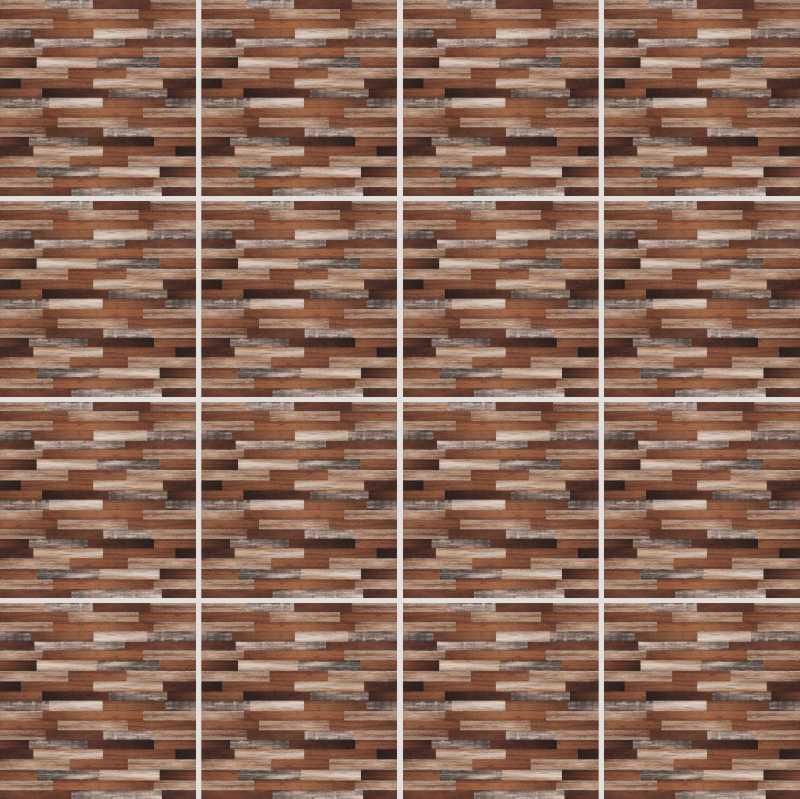 Fliesenaufkleber Dekor Wood 15x15 cm – Bild 4