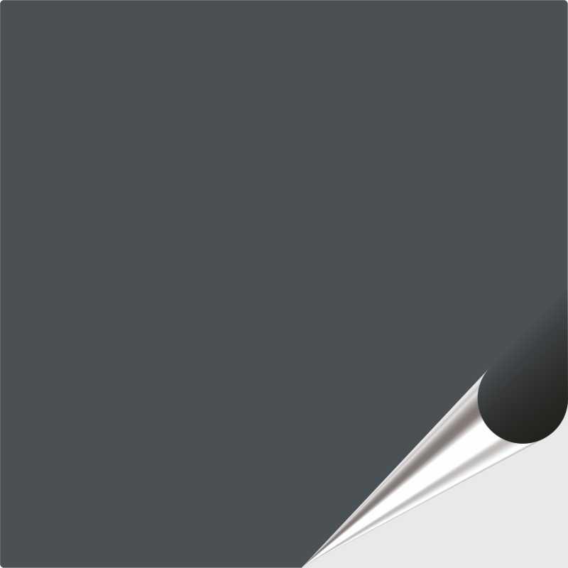 Fliesenaufkleber Anthrazitgrau seidenmatt 15x15 cm
