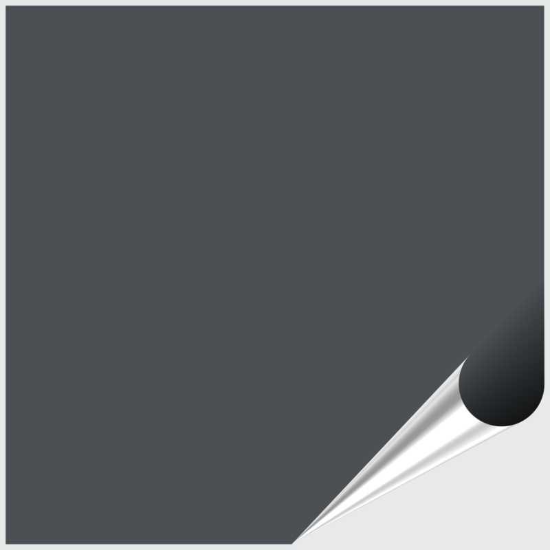 Fliesenaufkleber Anthrazitgrau seidenmatt 15x15 cm – Bild 1