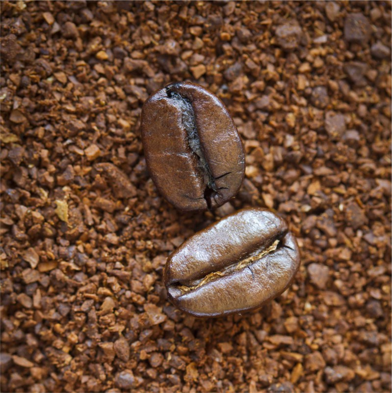 Fliesenaufkleber Motiv Coffee Beans 10x10 cm – Bild 2