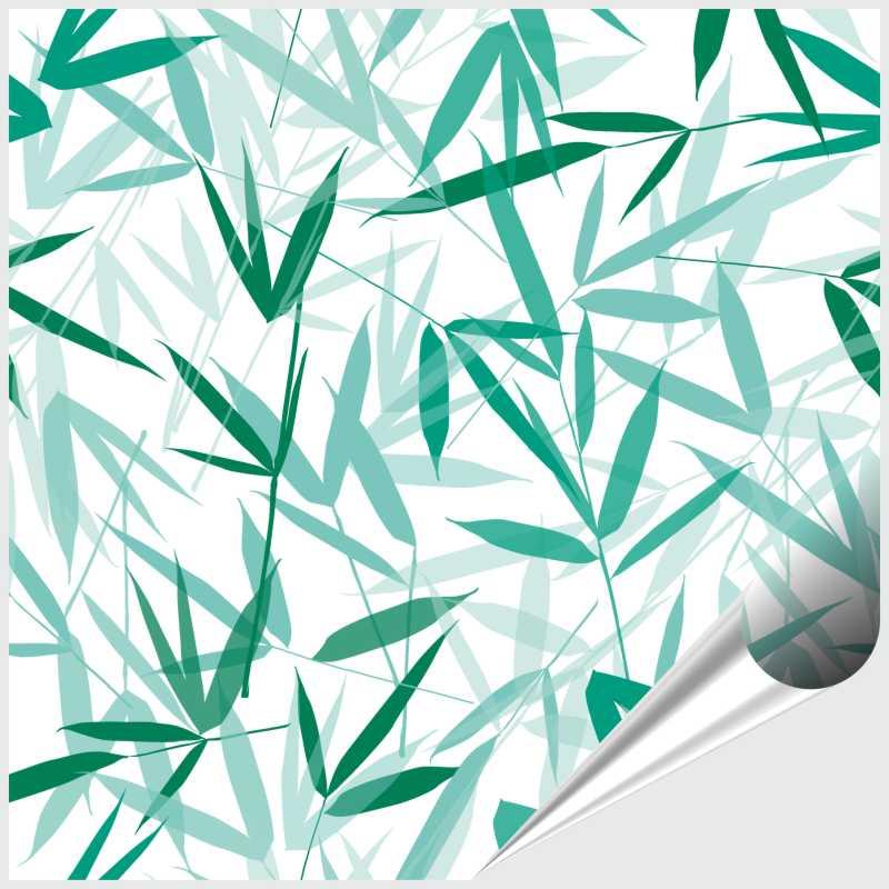 Fliesenaufkleber Bamboori Mint 15x15 cm – Bild 1