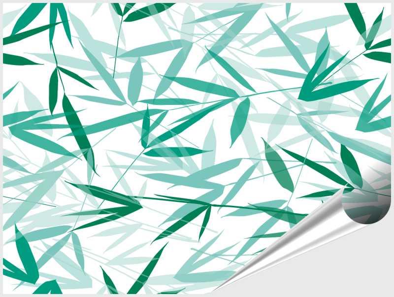 Fliesenaufkleber Bamboori Mint 15x20 cm – Bild 4