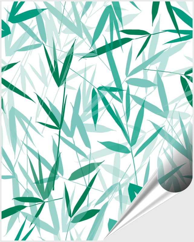 Fliesenaufkleber Bamboori Mint 20x25 cm – Bild 1