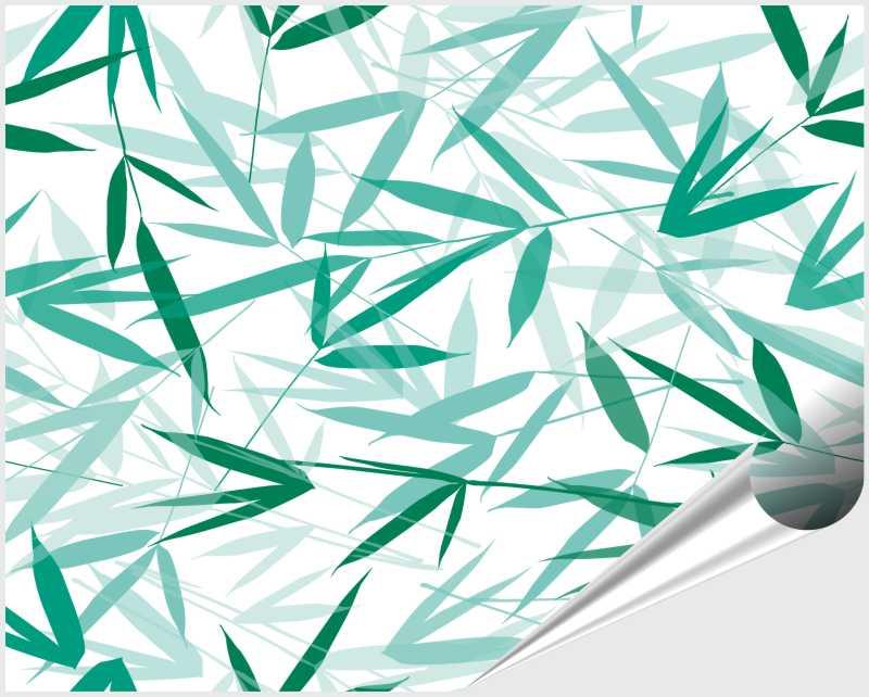 Fliesenaufkleber Bamboori Mint 20x25 cm – Bild 4