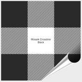 Probemuster Mosaik Crossline Black 001