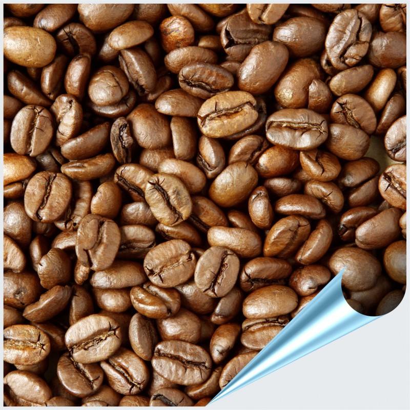 Fliesenaufkleber Motiv Kaffeebohnen 15x15 cm