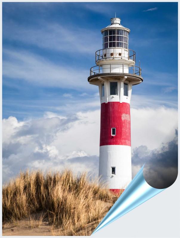 Fliesenaufkleber Motiv Lighthouse in Nieuwpoort 15x20 cm