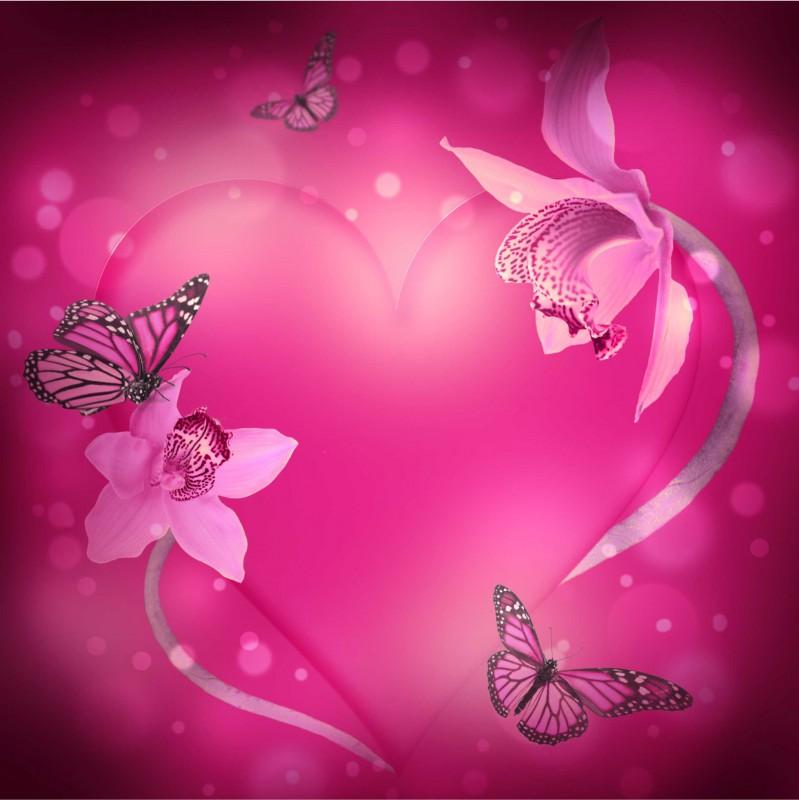 Fliesenaufkleber Motiv Valentinstag 20x20 cm – Bild 2