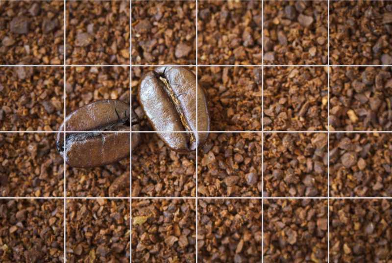 Fliesenbild Coffee Beans